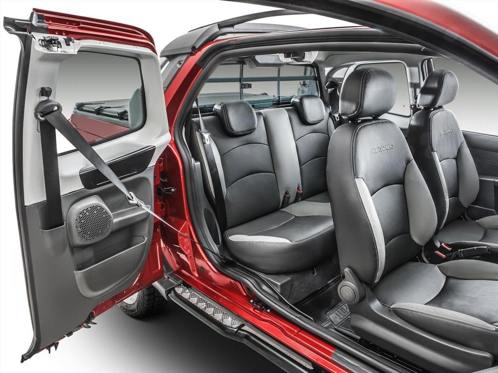 Fiat strada adventure 1 6 cabina doble 3 puertas 2017 - Fiat strada doble cabina ...