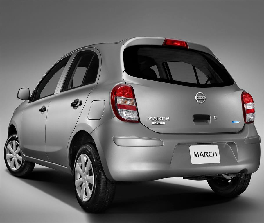 nissan march active  2014