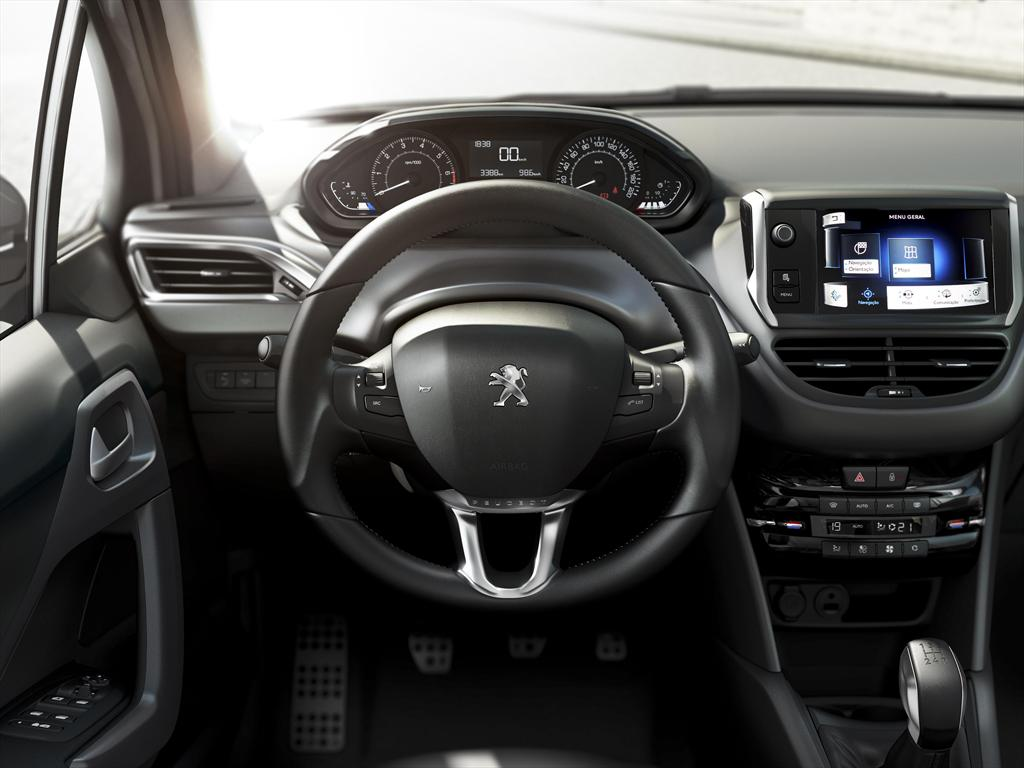 Peugeot 208 allure 1 5 2013 for Interior 408 allure